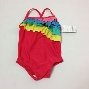 New Carter's Kids One Piece Swimsuit Size 18Months